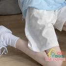 短褲 ins超火運動短褲女夏韓版潮學生寬松顯瘦薄款闊腳直筒休閒五分褲 限時折扣