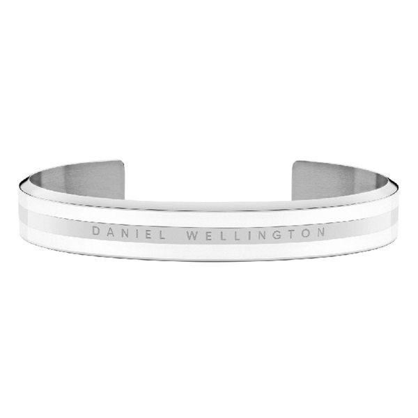 Daniel Wellington DW 手環 Classic Bracelet 時尚奢華手鐲 簡約銀x白-S