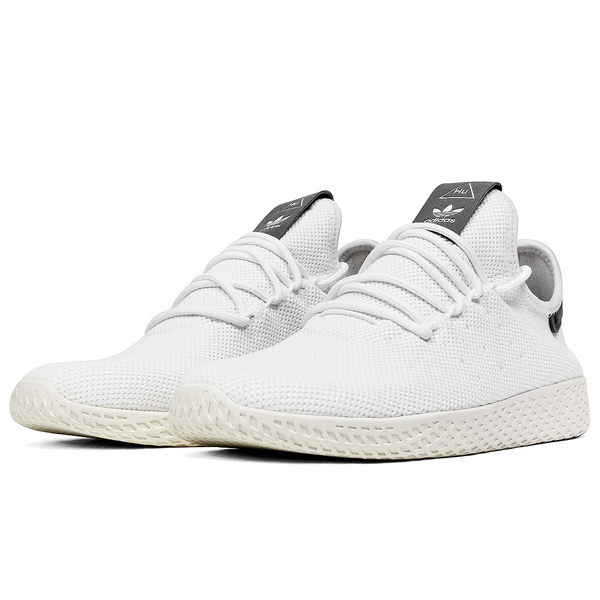 1eeb4d415 GT Adidas Originals Tennis HU 白灰男鞋菲董低筒輕量聯名款運動鞋休閒 ...