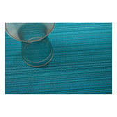 Chilewich Skinny Stripe Floor Mat Turquoise Color 細條紋 腳踏墊 / 地墊系列 湖水藍(踏墊 - 61 x 91 cm)