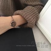 別樣A99韓風簡約chic時尚氣質石英錶復古文藝ins小錶盤手鐲手錶女 衣櫥秘密
