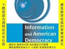 二手書博民逛書店Information罕見And American DemocracyY256260 Bruce Bimber