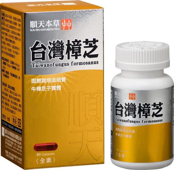 【順天本草】台灣樟芝膠囊(60顆/瓶)