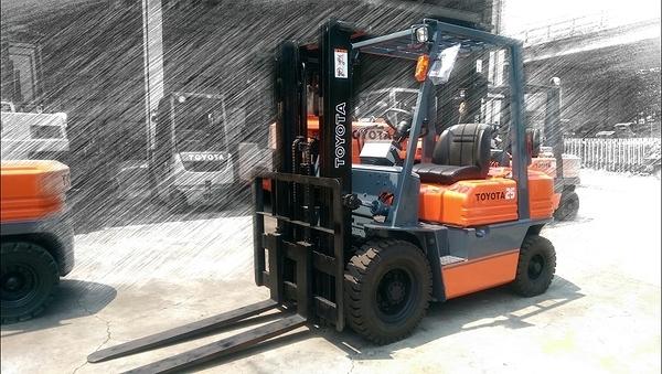 【永通推高機】TOYOTA 第五代 2.5噸 柴油貨櫃型堆高機