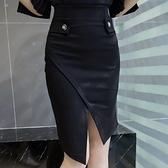 高腰短裙-時尚亮眼氣質包臀女裙子2色73kj86[巴黎精品]