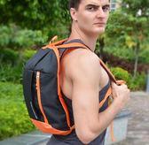 雙肩背包男女戶外兒童運動休閒學生小書包輕便皮膚包登山旅行迷你       伊芙莎