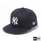 NEW ERA 59FIFTY 5950 LOGO NY 黑 棒球帽