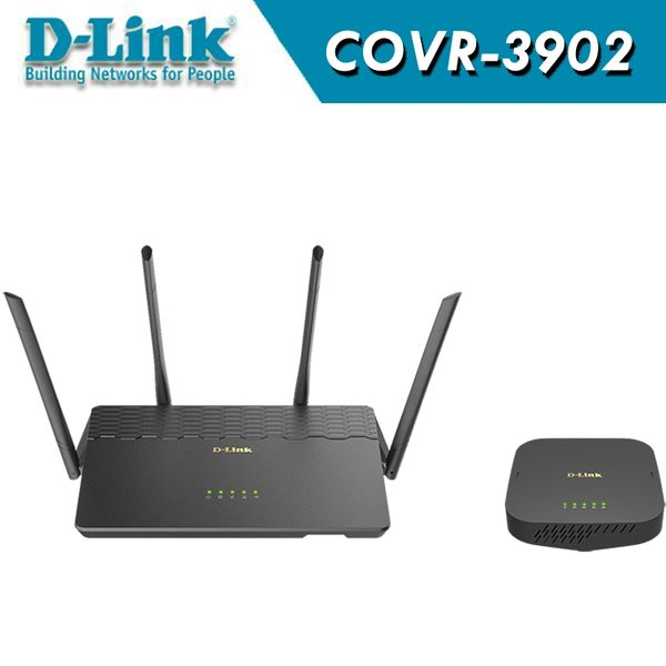 D-Link 友訊 COVR-3902 AC3900 Covr 全覆蓋家用Wi-Fi系統 / 無線Router+無線延伸AP