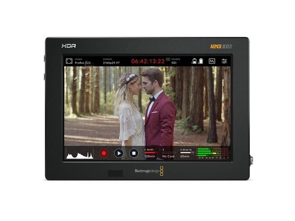 【聖影數位】BlackMagic Design Video Assist 7 12G HDR 監看錄影螢幕 4K紀錄器 公司貨