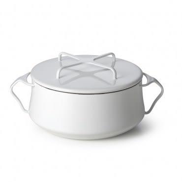 Kobenstyle 雙耳砂鍋 4QT (白)