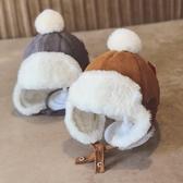 冬天兒童加絨加厚保暖護耳小童嬰兒10月-3歲男女童雷鋒 『洛小仙女鞋』