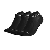 Nike JUMPMAN NOSHOW 3PPK 黑 三雙入 厚底 運動 短襪 SX5546-010