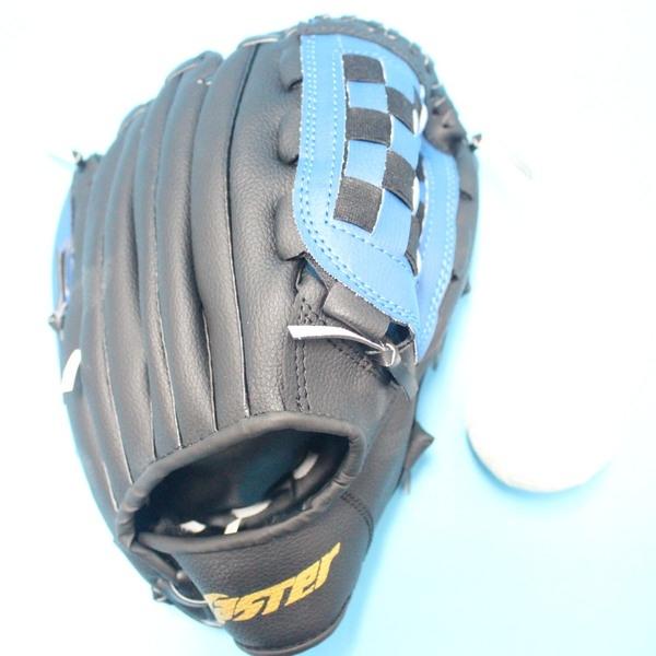 11吋合成皮棒球手套 + 軟式安全棒球/一組入{促399}-國小.國中適用-群