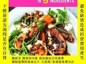 二手書博民逛書店So罕見Vegan in 5 Ingredients: Over 100 super simple 5-ingre