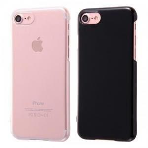 尼德斯Nydus 日本正版 透明硬殼 曜石黑 硬度3H 手機殼 4.7吋 iPhone7