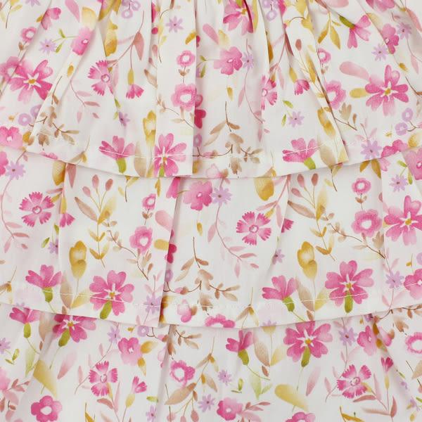 【愛的世界】純棉鬆緊帶碎花蛋糕短裙/2歲-台灣製- ★春夏下著 夏出清