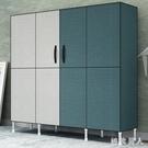 簡易衣柜鋼管加粗加固布衣柜布藝簡約現代經濟型組裝衣櫥收納柜子TA4580【極致男人】