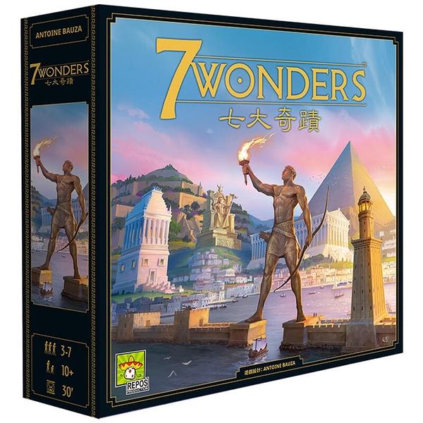 『高雄龐奇桌遊』 七大奇蹟 新版 7 WONDERS V2 繁體中文版 正版桌上遊戲專賣店