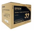 S050751 EPSON (黑色雙包裝) 原廠碳粉匣 for C300N/C300DN 適用