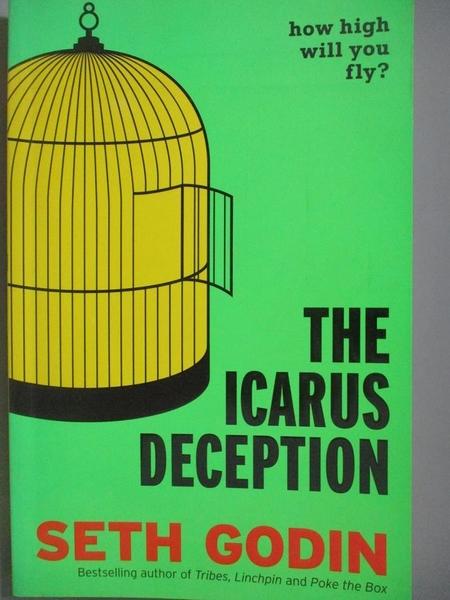 【書寶二手書T2/傳記_YDI】The Icarus Deception_Seth Godin