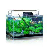 超白魚缸 超白玻璃水族箱 小型魚缸桌面客廳鬥魚烏龜缸草缸金魚缸   LannaS