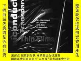 二手書博民逛書店Semiconducting罕見Transparent Thin Films-半導體透明薄膜Y436638 A