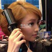 捲髮棒 捲髮 神器捲髮 棒兩用不傷髮 韓國學生直捲內扣梳乾濕兩用DF 野外之家