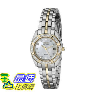 [104美國直購] 手錶 Citizen Women s EW1594-55D Eco Drive Two-Tone Watch$14374