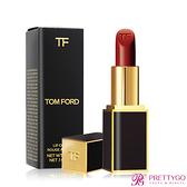 TOM FORD Lip Color 設計師唇膏#16 Scarlet Rouge(3g) 黑管-國際航空版【美麗購】