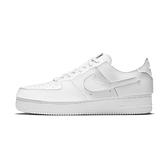 Nike AF1/1 男 白 復古 魔鬼氈 可拆式 皮革 休閒鞋 CV1758-100