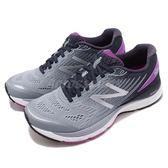 New Balance 慢跑鞋 NB 880 灰 紫 輕量包覆鞋面 緩震中底 運動鞋 女鞋【PUMP306】 W880SD8D