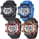 [EYE DC] JAGA 捷卡 M1041 防水 時尚休閒錶 多功能電子錶 運動錶 女錶/男錶/中性錶 (四色可選)