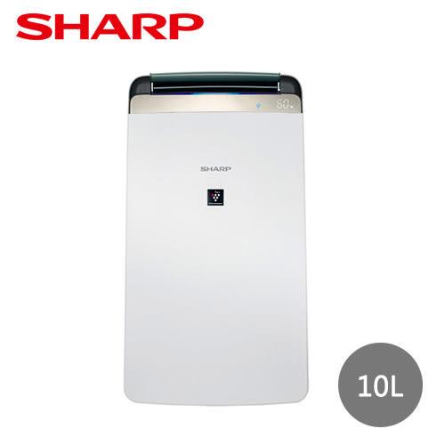 【夏普】10L清淨除濕機DW-J10FT-W