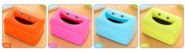 [協貿國際]  多功能桌面紙巾盒餐巾抽紙盒塑料收納盒 (4個價)