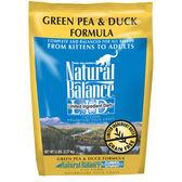【寵物王國】Natural Balance-NB低敏無穀青豌豆鴨肉全貓配方5磅