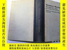 二手書博民逛書店quantum罕見mechanics course of the
