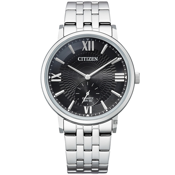 CITIZEN 星辰 紳士小秒針手錶-39mm(BE9170-72E)