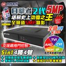 【台灣安防家】士林電機 5MP H.265 5合1 DVR 主機 4路4聲 適 IPC 網路 2MP 海螺半球 AHD 監控 攝影機