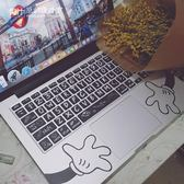 macbook pro鍵盤貼紙蘋果筆記本貼膜半透光【3C玩家】