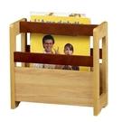 【藝匠】書架/木製雜誌架/雜誌收納架/調整式收納架  家具 置物櫃 櫃子 收納櫃 收藏