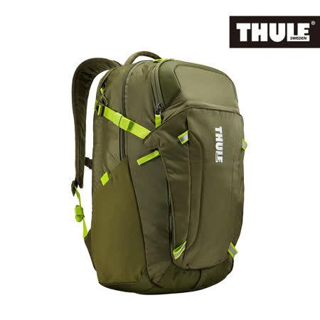 THULE 都樂-EnRoute Blur 2筆電後背包TEBD-217(忠欣公司貨)-褐綠