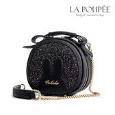 側背包 閃耀亮片兔耳朵小圓包 3色 -La Poupee樂芙比質感包飾 (現貨+預購)