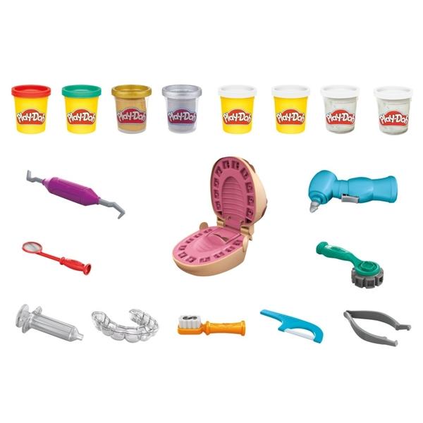Play-Doh培樂多黏土 鑲金小牙醫 Drill'n Fill Dentist TOYeGO 玩具e哥