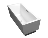 【麗室衛浴】 美國KOHLER EVOK 長方形獨立式浴缸 K-18343T