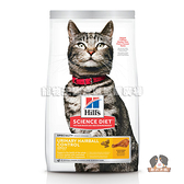 【寵物王國】希爾思-成貓泌尿道毛球控制(雞肉食譜)-15.5磅(7.03kg)