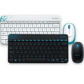 【台中平價鋪】全新 羅技 Logitech 無線滑鼠鍵盤組 MK240 白/黑 精巧 舒適 流線型外觀