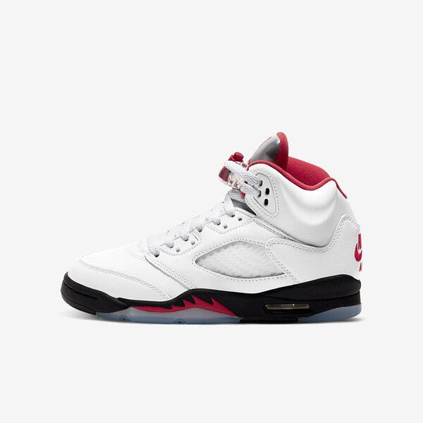 Nike Jordan 5 Retro (gs) [440888-102] 大童鞋 女鞋 籃球 流川楓 喬丹 經典 白紅