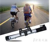 自行車便攜迷你腳踩高壓打氣筒山地公路車美法通用氣泵igo   伊鞋本鋪