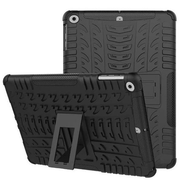 IPad Air 2 3 2019 雙層保護殼鎧甲盾TPU PC軟硬殼支架保護殼平板保護套背蓋