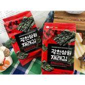 韓國 SAMWON 傳統芝麻油海苔(4gx3包入)【小三美日】團購 / 零嘴